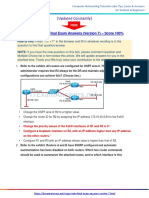 itexamanswers.net  – CCNP ROUTE Final Exam Answers (Version 7) – Score 100%