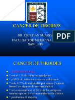 CANCER TIROIDES