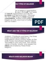 Religion and Its Types