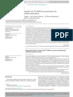 Resección Hepática Radioguiada Con f Dopa18 Paciente Carc Medular Tir Metast