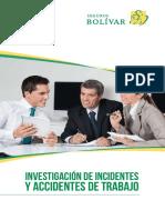 Investigación de Accidentes e Incidentes de Trabajom 2019