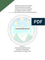 Clasificación de Contratos en Guatemala