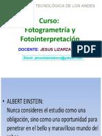 Fotogrametria y Fotointerpretacion