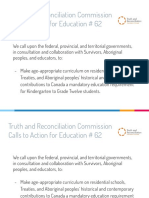 calls to action - education