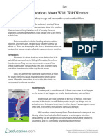 Answering Questions About Wild Wild Weather