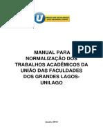 Manual de trabalhos acadêmicos Unilago