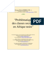 Problematique Classes Afrique