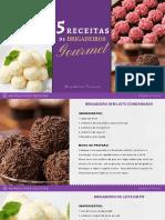 5 Receitas de Brigadeiros Gourmet Gratis