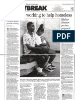 Churches Team to Care for Homeless