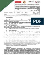 Acuerdo de Confidencialidad y No Revelación de La Información y Conducta - Universidad