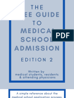 The Free Guide to Medical School Admission