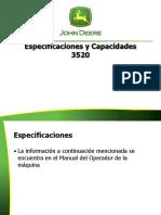 capacidades 3520 jd