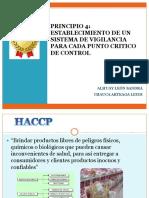 Cuarto Principio HACCP PPT