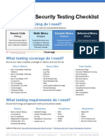 Mobile Appsec Testing Checklist