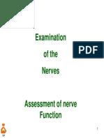 4.7- Examination of Nerves