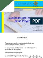 El Individuo-El Ing. de Proyectos