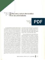 Bolivar a. 2005 . Discurso y Cultura Dem (1)