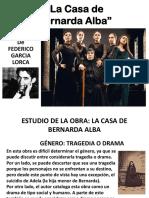 La Casa de Bernarda Alba PPT