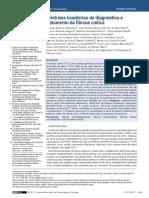 Diretrizes Brasileiras Para o |Diagnóstico de Fibrose Cística