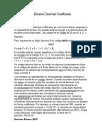 BCD - Código Binario Decimal Codificado.docx