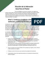 Worship Planning for Pastor Long Spanish