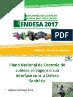 1 Plano Nacional de Controle de Suideos Selvagens Virginia Santiago