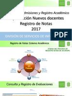 Instructivo Registro Notas