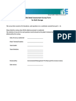 603008B Appendix 1.4 - Sample Detailed PESRA Survey for Bulk Storage