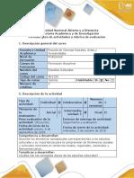 Guía de Actividades y Rúbrica de Evaluación - Paso 2 - Identificar Los Conceptos Claves de Los Estudios Culturales