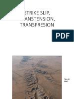 5.Strike Slip, Transtension, Trasnpresion