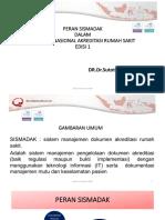 Peran Sismadak Dalam SNARS.pdf