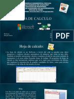 Diapositivas de Alexander, Microsft Excel