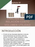 Analisis de la relacion COSTO VOLUMEN UTILIDAD