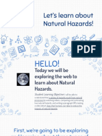 natural disasters digital lesson