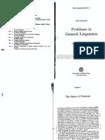 Benveniste Emile - Problems in General Linguistics 1