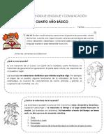Guía de Aprendizaje Lenguaje y Comunicación 4to