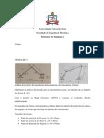 Relatorio de Mecanismo e Elementos