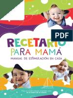 Libro Recetario Para Mamá