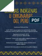 Ley de Lenguas Indígenas u Originarias Del Perú