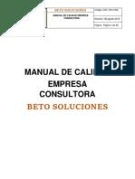 Manual de Calidad Alberto Saturnino Cortes