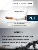 Presentasi merokok