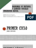 Planes y programas historia