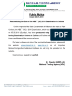 Public Notice Cyclone Fani