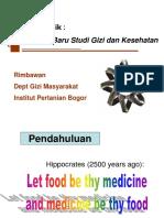 NUTRIGENOMIK BIOKIMIA S1