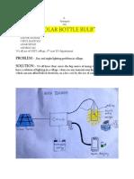 Solar Bottle Bulb small report