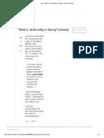 Java - What is JavaConfig in Spring_ - Stack Overflow