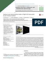 Revier-3 Spectrochimica Acta Part a Molecular and Biomolecular Spectroscopy 142, 405-409, 2015