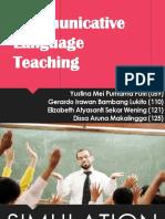 [Presentation]Communicative Language Teaching