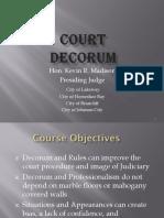 Madison - Court Decorum - pp (1).pptx