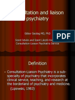 Consulatation Liaison Psychiatry English Lecture 2012 10
